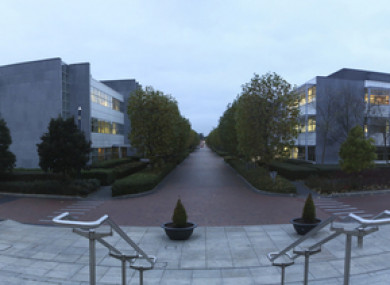 Deutsche Bank's Dublin HQ at East Point Business Park