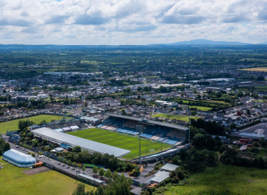 Sky Sports cameras are in Semple Stadium on Saturday evening.