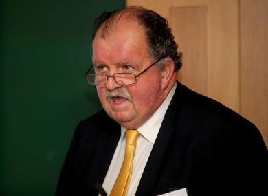 Apology: Basketball Ireland CEO Bernard O'Byrne.