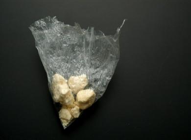 Stock photo of crack cocaine.