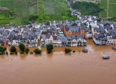 The town of Mosel in Germany's Rhineland-Palatinate region