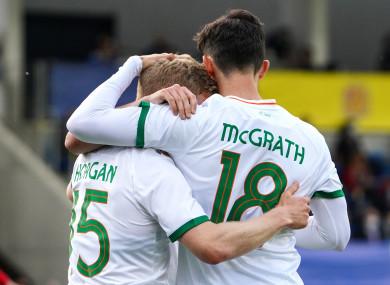 Irish international McGrath is in demand.
