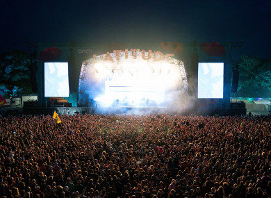 Latitude Festival in Suffolk has 40,000 people in attendance this weekend.