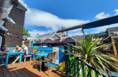 'The terrace is a suntrap': Outdoor dining spots for food with friends, as restaurants re-open