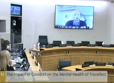 Patrick Reilly appears before the Oireachtas sub-committee on mental health