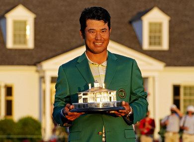 Matsuyama was victorious at Augusta in April.