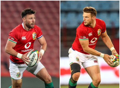 Ali Price and Dan Biggar have only played together for 20 minutes.