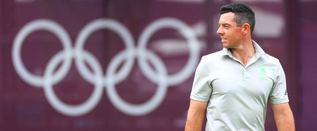 Rory McIlroy in action in Tokyo.