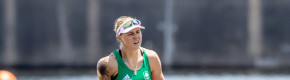 Medal hopes remain on course as Sanita Puspure eases to Olympic semi-finals