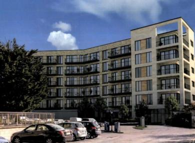 The proposed development in Dublin 9..