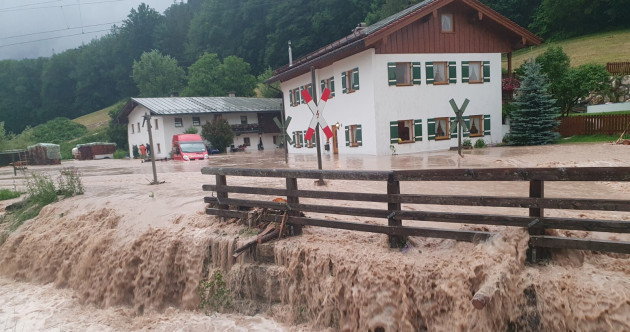 Merkel visits ravaged German villages as death toll from worst European flooding in living memory rises to 183