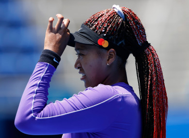 Naomi Osaka withdrew from the French Open due to mental health issues, and also skipped Wimbledon.