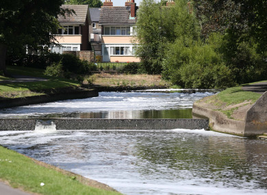 The Tolka river at Griffith Park in Dublin. File photo.