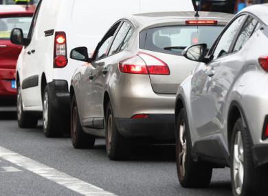 File image of Dublin traffic.