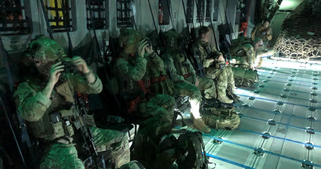 PHOTOS: The Army Rangers' mission to evacuate Irish people from Afghanistan