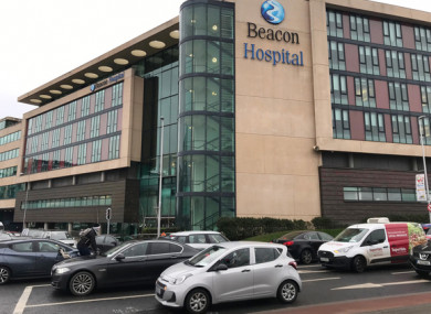 File image of the Beacon Hospital in Dublin.