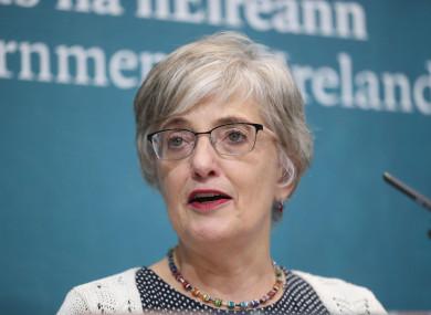 Former Minister Katherine Zappone