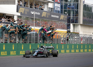 Sebastian Vettel (GER, Aston Martin Cognizant F1 Team), F1 Grand Prix of Hungary.