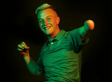 Irish high jumper Jordan Lee.