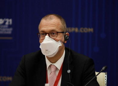 Hans Kluge, Regional Director for Europe of the World Health Organization (WHO).