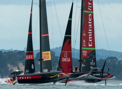 Emirates Team New Zealand beat challengers Luna Rossa of Italy in the 2021 America's Cup.