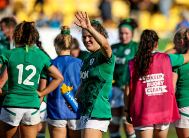 Ireland are aiming to build on last weekend's win over Italy.
