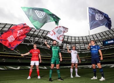 Chris Farrell (Munster), Paul Boyle (Connacht), Kieran Treadwell (Ulster) and Garry Ringrose (Leinster).