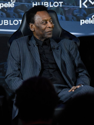 Road to recovery: Pele (file pic, 2019).