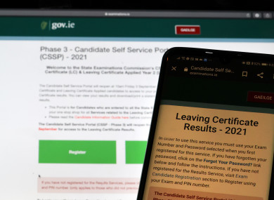 Thousands of students recieved their Leaving Certificate results today.