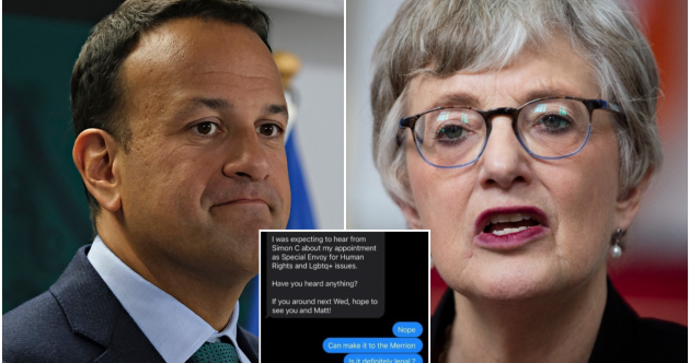 'Is it definitely legal?' - Varadkar releases screengrabs of his texts with Zappone and Coveney