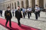President Higgins in Rome.