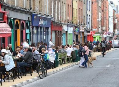 Capel Street in Dublin.