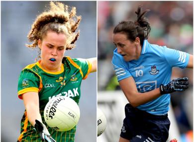 Meath's Emma Duggan and Hannah Tyrrell of Dublin will have a major influence on Sunday's game.
