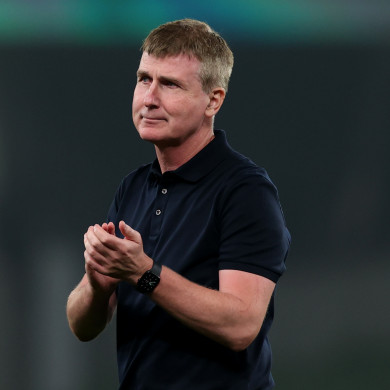 Republic of Ireland manager Stephen Kenny.