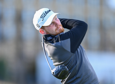 John Murphy pictured during last week's successful outing at the Alfred Dunhill Links Championship at St Andrews.