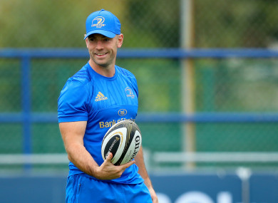 Hugh Hogan joined Scarlets from Leinster during the summer.
