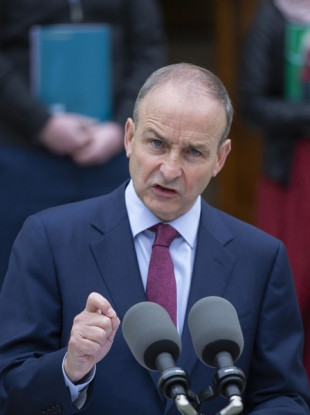 This is a very different situation than the one we were facing into last autumn, said Micheál Martin.